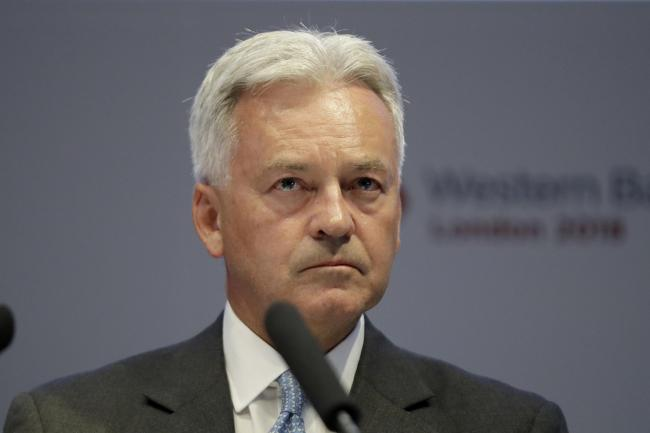 Foreign Office minister Sir Alan Duncan