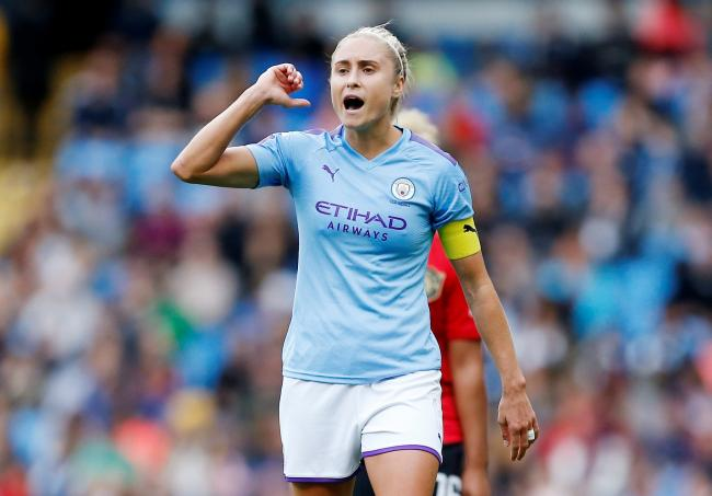 Man City captain Steph Houghton