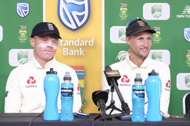 Joe Root, right, was delighted with his side's display in Port Elizabeth