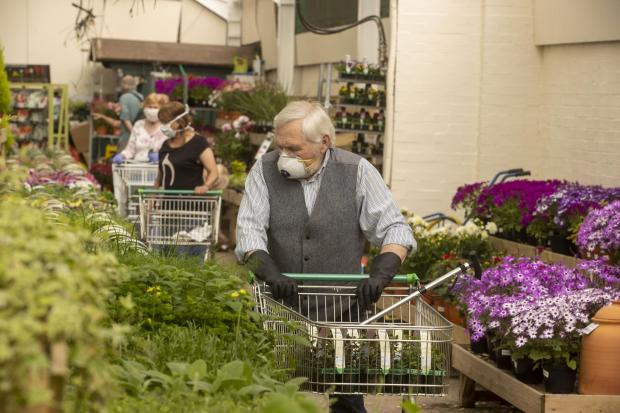 Troon Times: Garden centres opened last week across Scotland