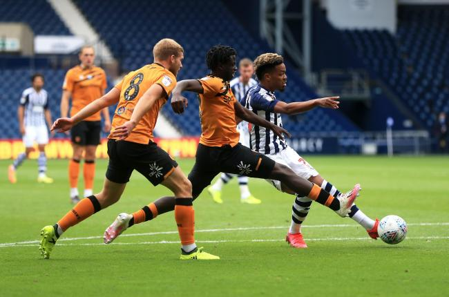 West Brom's Grady Diangana wraps up their 4-2 win over Hull