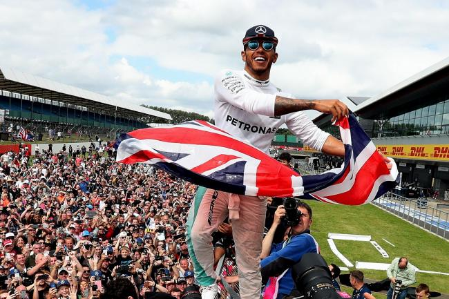 Lewis Hamilton has now won the British Grand Prix seven times