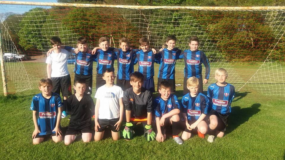 NEW TEAM: Troon 2004s.