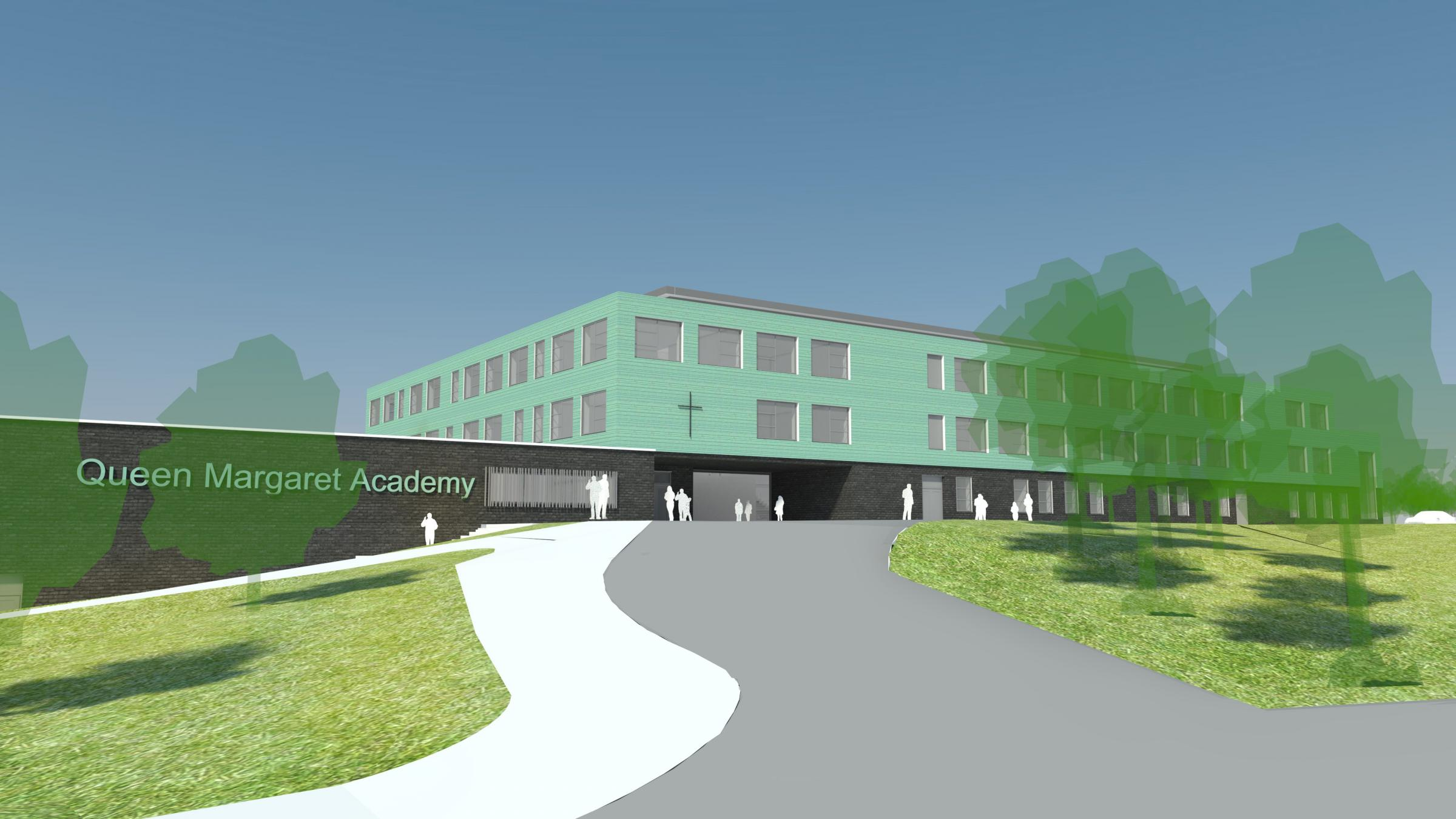 Green light for new-look Queen Margaret Academy campus