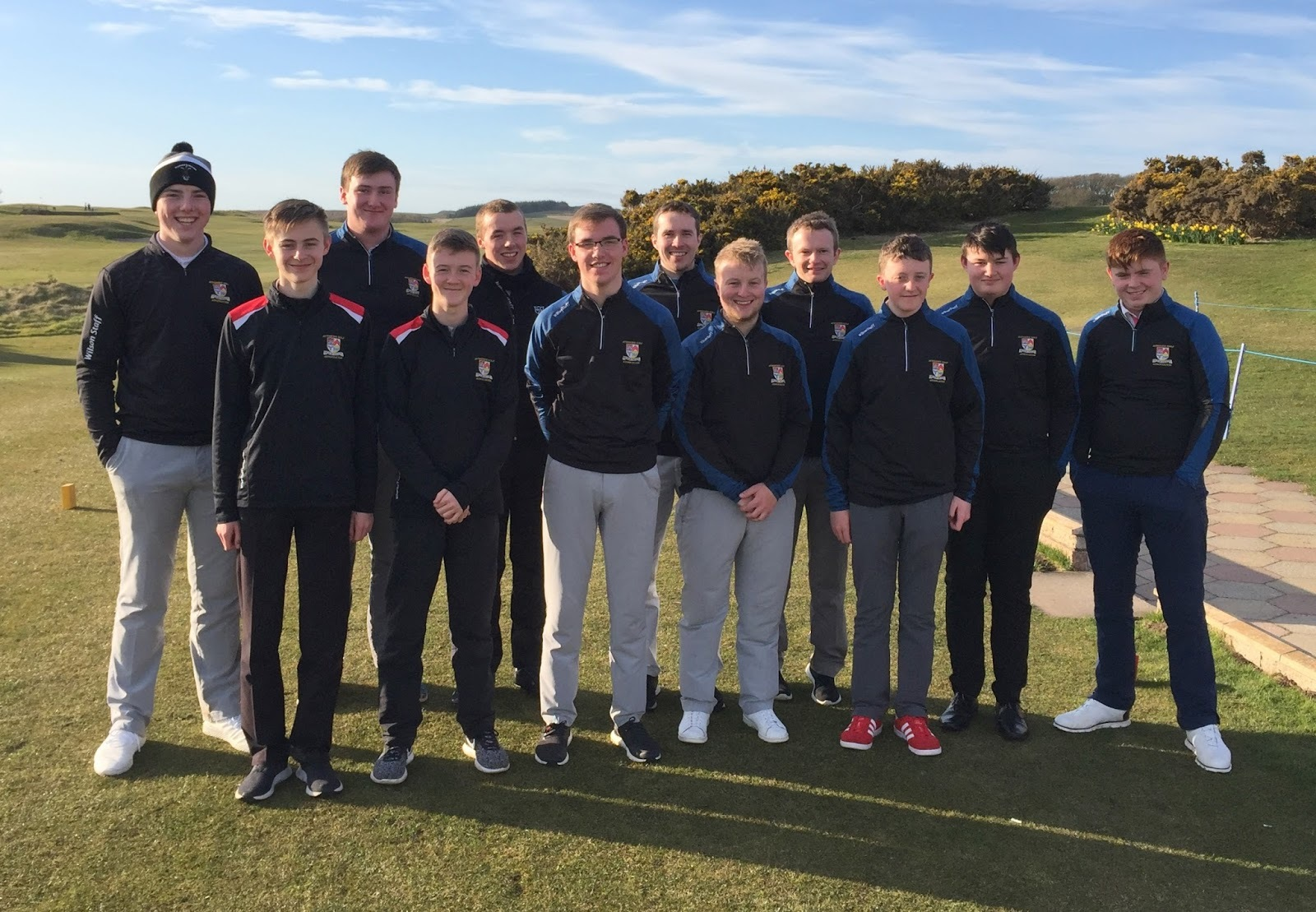 :LOSING TEAM: Ayrshire were beaten by South of Scotland in the Centenary Trophy event.
