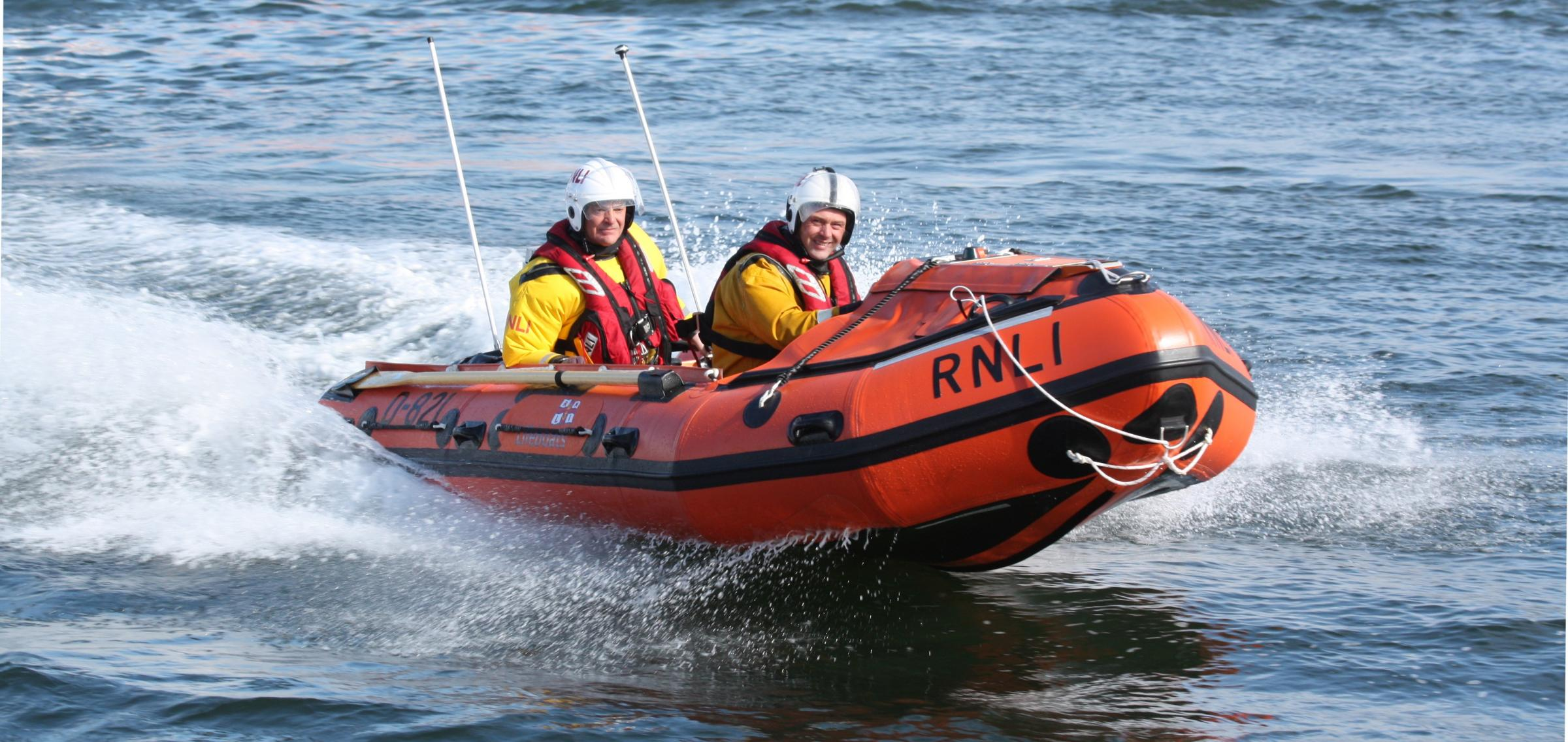 Farewell from Troon RNLI to their lifeboat