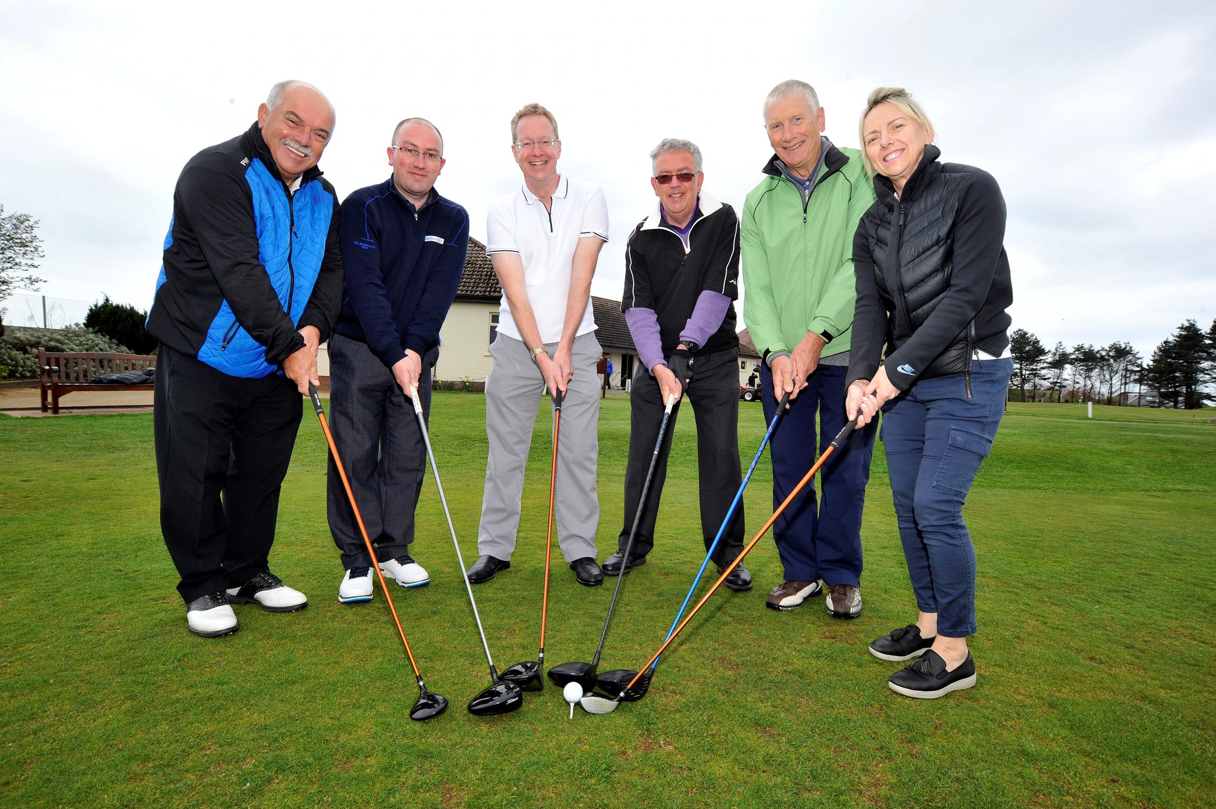 Golfers tee off at charity fundraiser for Hansel