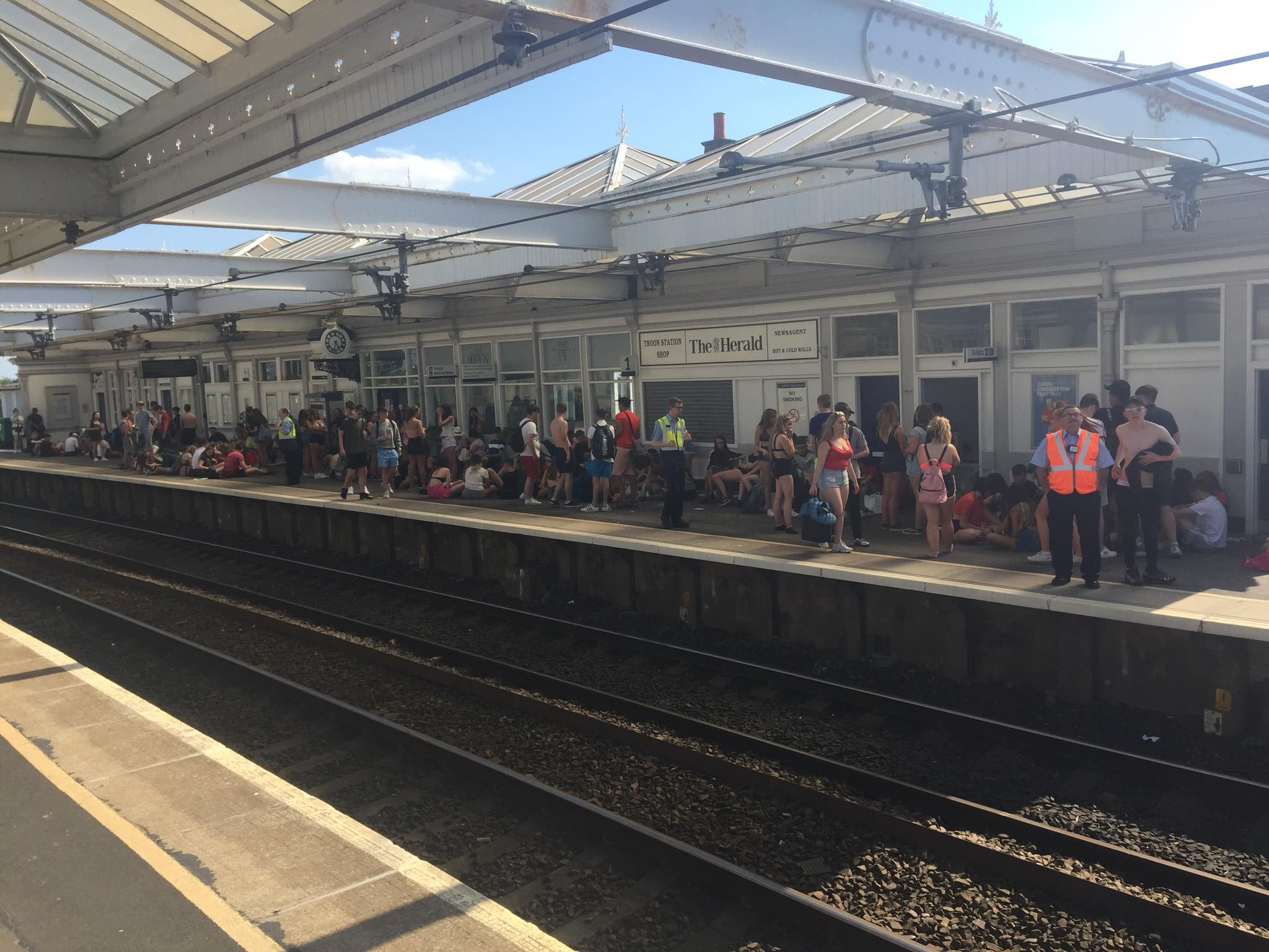 Trains from Ayr to Glasgow cancelled