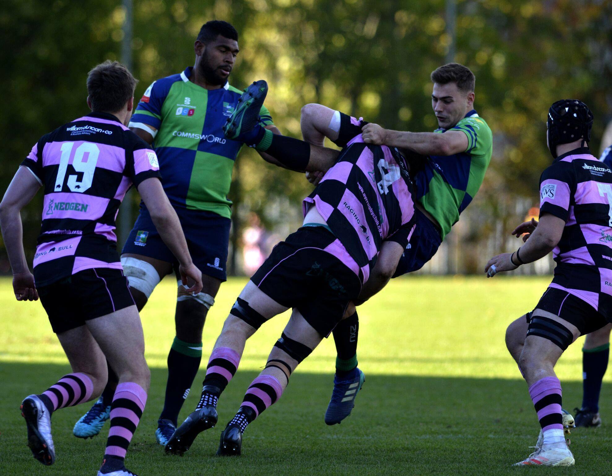 BIG WIN: Ayr defeated Boroughmuir: Pic: Dave Patterson.